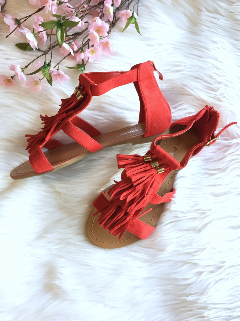 Sassy Red Sandals