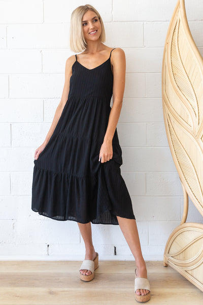 Costello  Dress in black