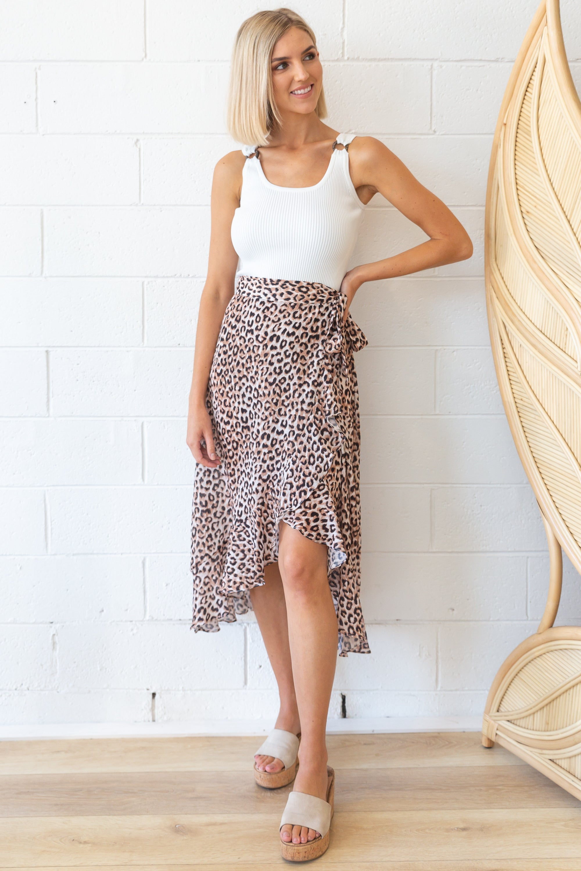 Coco Skirt in Leopard