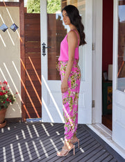 South of the border Pants - Rosa Romance