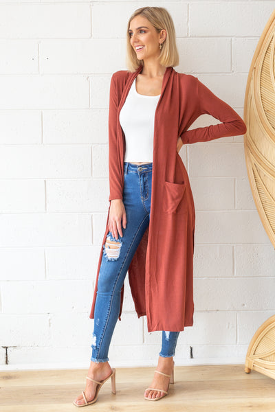 Marlow Duster in Rust