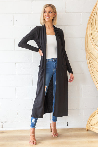 Marlow Duster in Black
