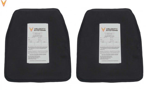"10""x 12"" Soft Body Armor Inserts by Velocity Systems"