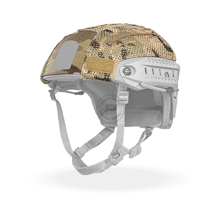 Large AirFrame Helmet Cover with Cutout Multicam Crye Precision