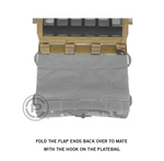 Crye Precision AirLite Detachable Flap, MOLLE for Airlite Plate Carrier