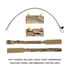 Crye Precision AVS Plate Carrier Base Configuration (Assembled w/ Standard Plate Pouch Set)