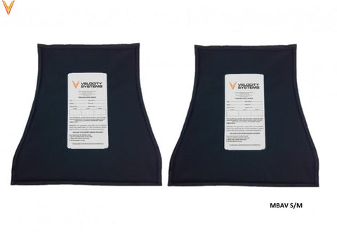 MBAV Soft Body Armor Inserts by Velocity Systems
