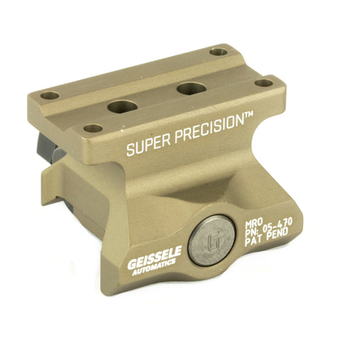 Super Precision MRO 1-3 Cowitness Mount by Geissele