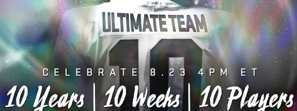 Madden 20 Ultimate Team celebrates MUT 10 with special player cards
