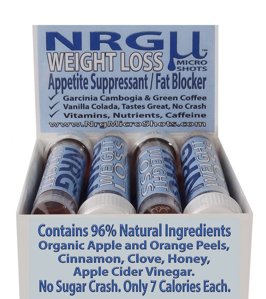 (4) NRG WEIGHT LOSS 8 PACK ($1.50/Each)