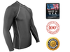Charcoal Gray Rash Guard