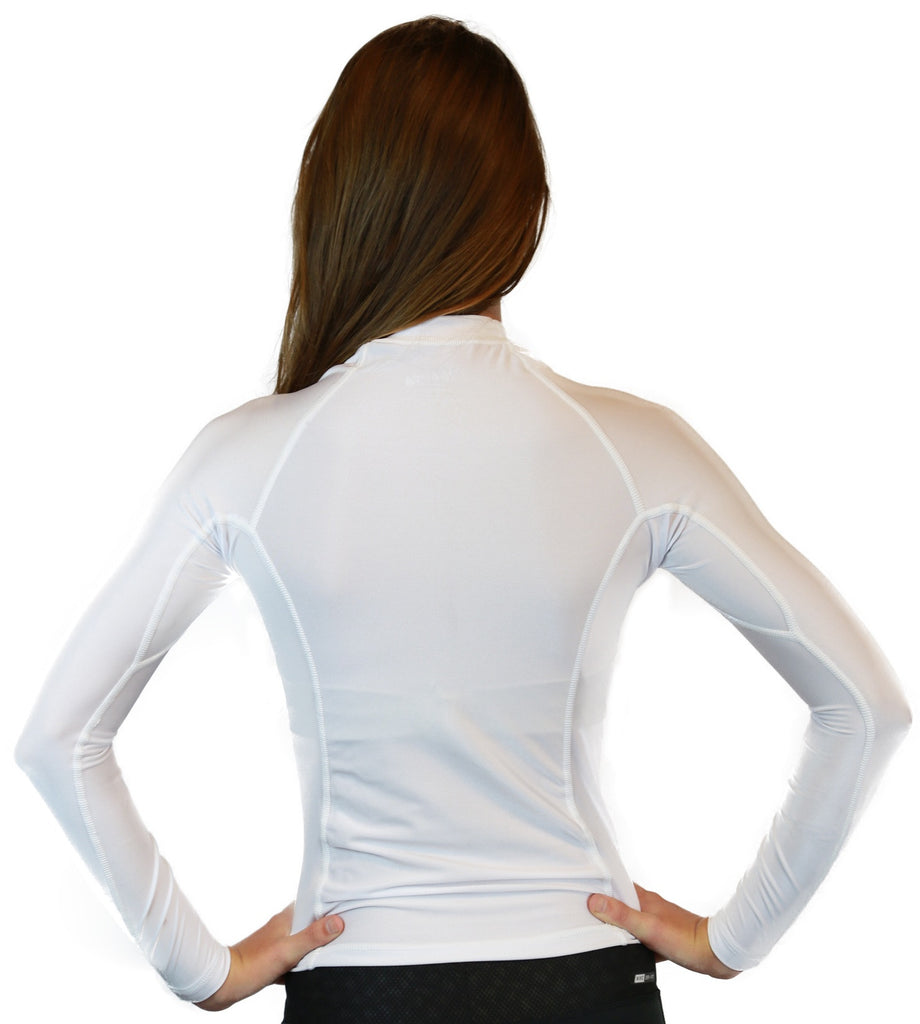 White Rash Guards
