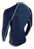 Navy Blue Rash Guard