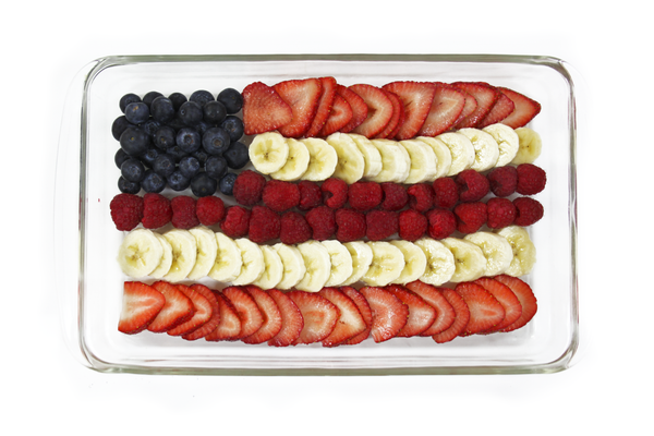 Memorial Day Fruit Platter