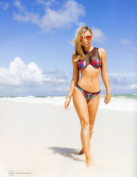 B. Swim Featured In Surfing Magazine Swim Issue '15
