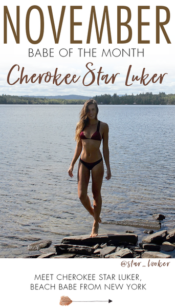 B. Swim Babe of the Month - Cherokee Star Luker