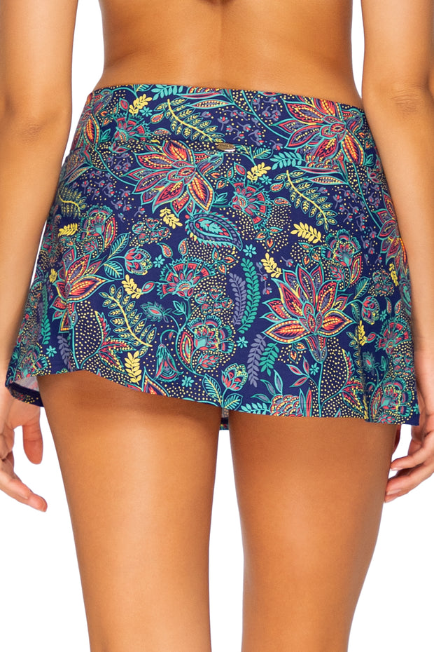 Sunsets Dreamscape  Summer Lovin Swim Skirt