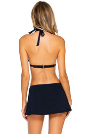 Sunsets Black Kokomo Swim Skirt
