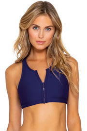 Sunsets Indigo Scuba Top