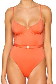 B Swim Burnt Umber Jetty One Piece