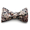 Christopher - Hawaiian Solid Linen Bow Tie (Black)