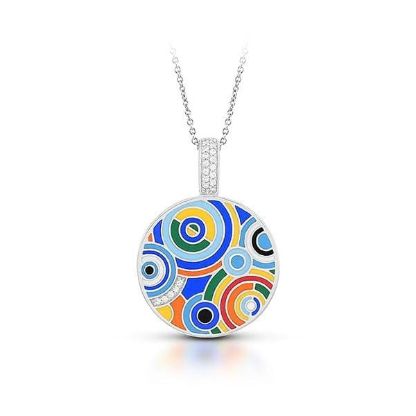Emanation Blue & Multi Pendant-Belle Etoile-Renee Taylor Gallery