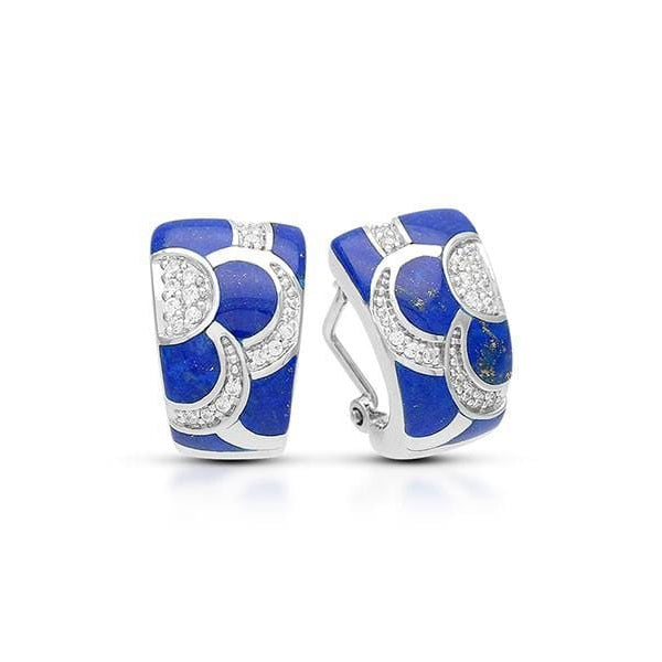 Adina Lapis Earrings-Belle Etoile-Renee Taylor Gallery