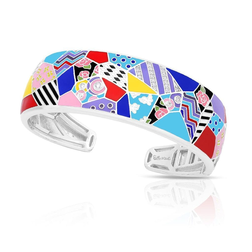 Quilt Multi Bangle-Belle Etoile-Renee Taylor Gallery