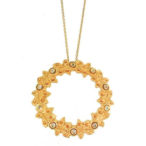 Marika Diamond & 14k Gold Necklace - M1152-Marika-Renee Taylor Gallery