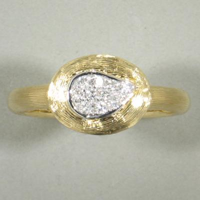 18k Yellow Gold & Diamond Ring - 503H-YG-Jayne New York-Renee Taylor Gallery