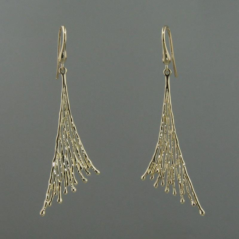 14k Yellow Gold Earrings - 291+W-Y-Leon Israel Designs-Renee Taylor Gallery