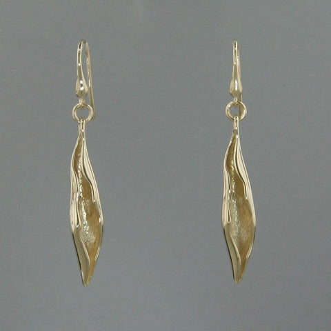 14k Yellow Gold Earrings - 712E+W-Y-Leon Israel Designs-Renee Taylor Gallery