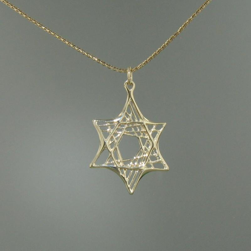 14k Yellow Gold Pendant - 276-Y-Leon Israel Designs-Renee Taylor Gallery