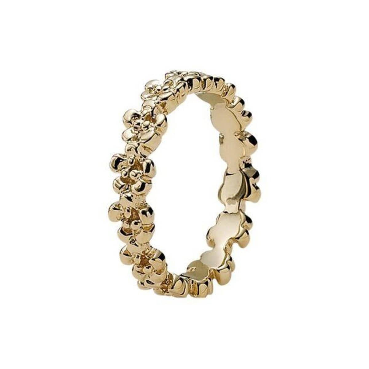 Darling Daisies 14K Gold Ring - 150104-Pandora-Renee Taylor Gallery