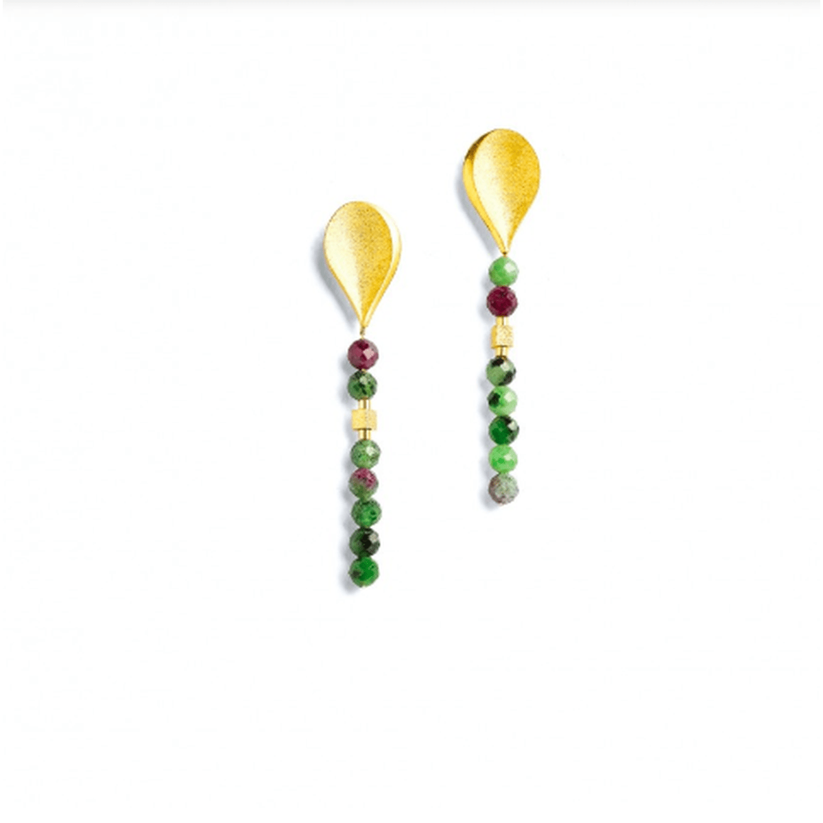 Aquelli Ruby Zoisite Earrings - 15534086-Bernd Wolf-Renee Taylor Gallery