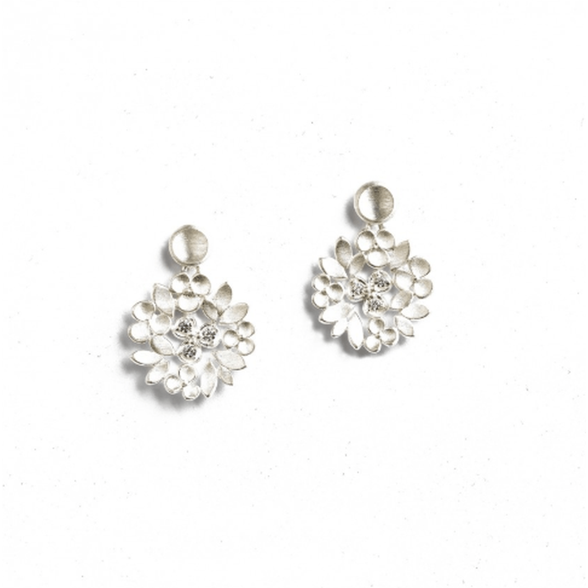 Liandra Zirconia Earrings - 15702154-Bernd Wolf-Renee Taylor Gallery