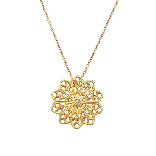 Marika Diamond & 14k Gold Necklace - MA1970GC-Marika-Renee Taylor Gallery