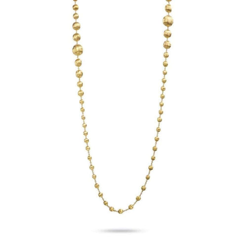 "18K Africa Necklace - CB1417 Y 36""-Marco Bicego-Renee Taylor Gallery"