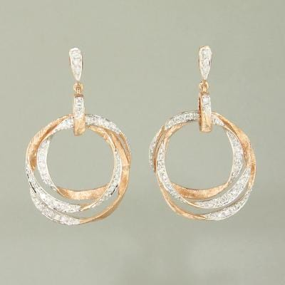 18k Gold & Diamond Earrings - E0467-Jayne New York-Renee Taylor Gallery