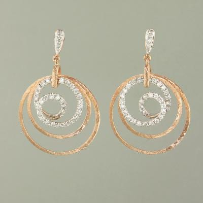 18k Gold & Diamond Earrings - E0554-Jayne New York-Renee Taylor Gallery
