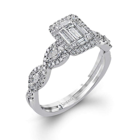 18k White Gold & Diamond Right Hand Ring - MR2636-W-Simon G.-Renee Taylor Gallery