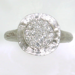 18k White Gold & Diamond Ring - 495-WH-Jayne New York-Renee Taylor Gallery
