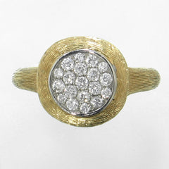 18k Yellow Gold & Diamond Ring - 495H-YG-Jayne New York-Renee Taylor Gallery