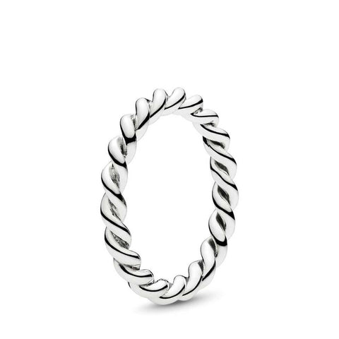 Twist Silver Ring - 190602-Pandora-Renee Taylor Gallery