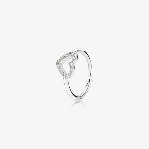 Be My Valentine Clear Cubic Zirconia Ring - 190861CZ-Pandora-Renee Taylor Gallery