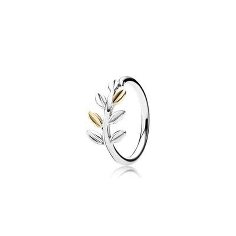 Laurel Leaves Ring - 190920-Pandora-Renee Taylor Gallery