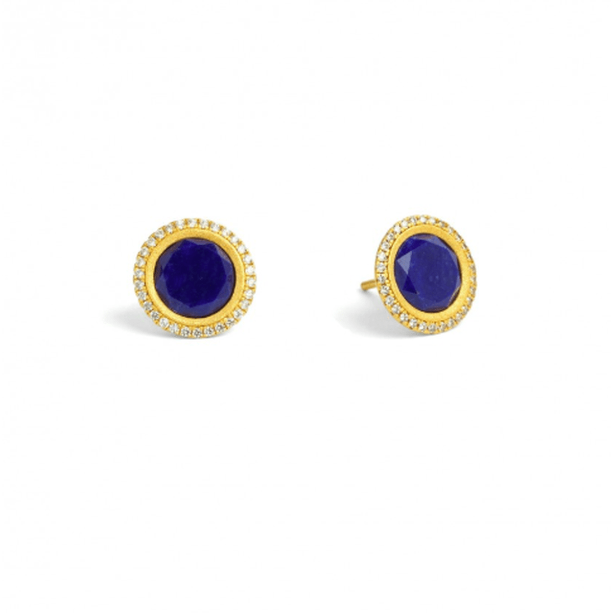 Tisinni Lapislazuli Stud Earrings - 19800236-Bernd Wolf-Renee Taylor Gallery