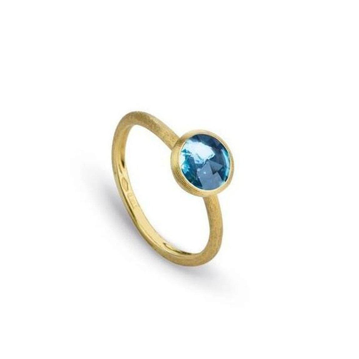 Jaipur Color Blue Topaz Stackable Ring - AB471 TP01 Y-Marco Bicego-Renee Taylor Gallery