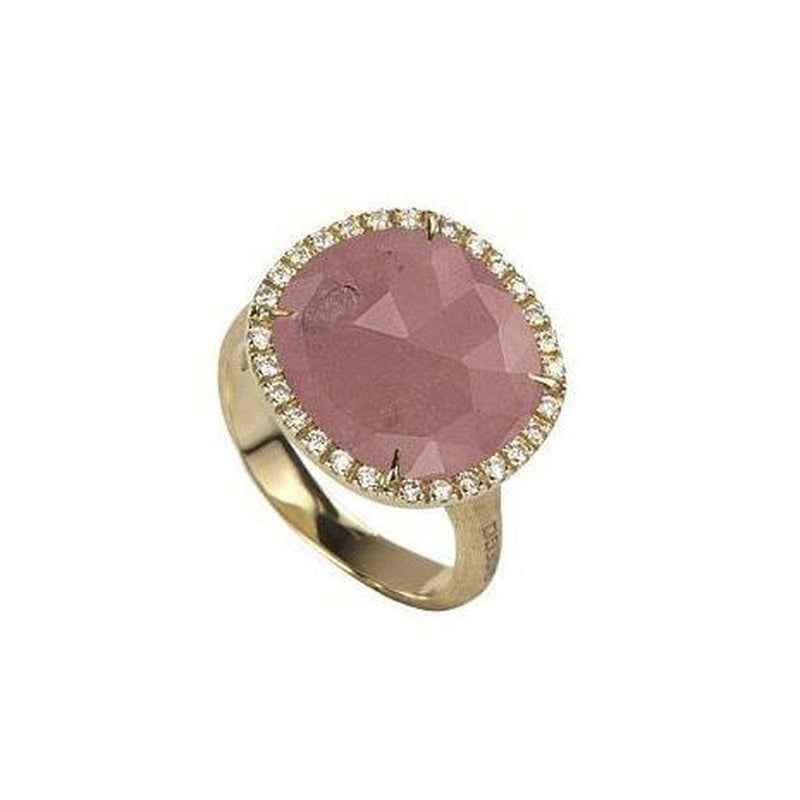 18K Jaipur Diamond Pink Sapphire Ring - AB450 B2 ZR01 Y-Marco Bicego-Renee Taylor Gallery