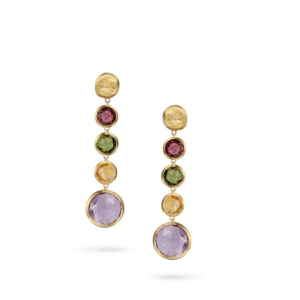 18K Jaipur Earrings - OB901 A MIX01 Y-Marco Bicego-Renee Taylor Gallery